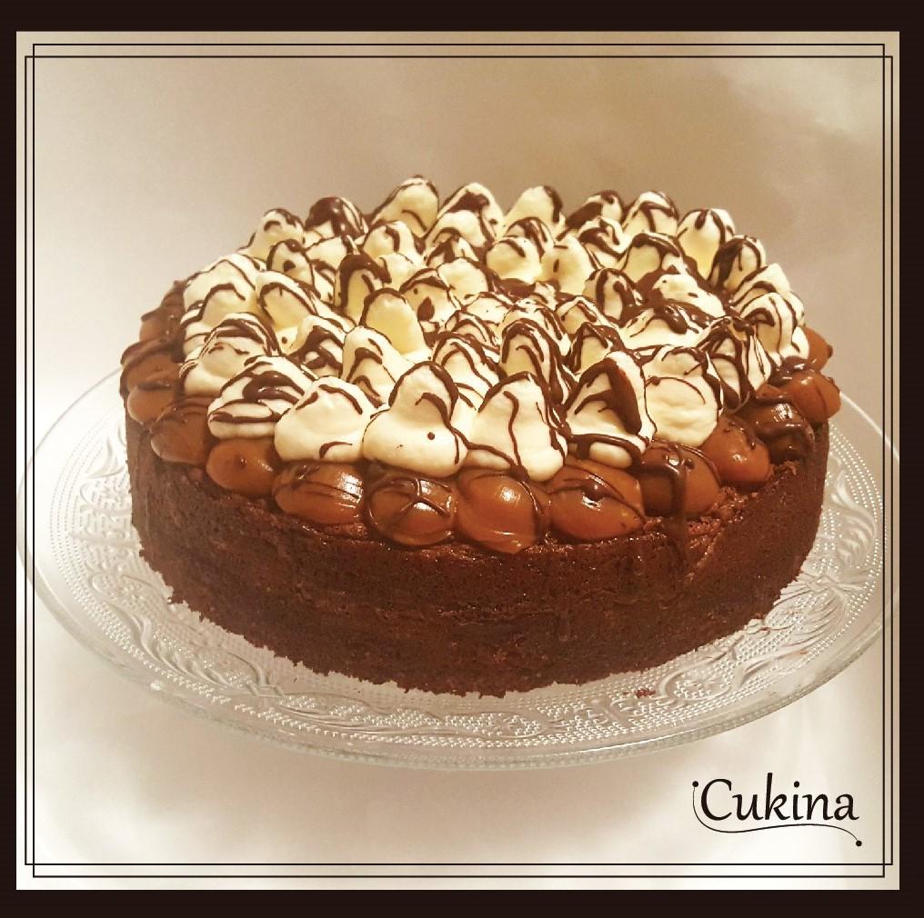 Torta Brownie Cukina Pastelería Artesanal